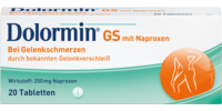 DOLORMIN GS mit Naproxen Tabletten